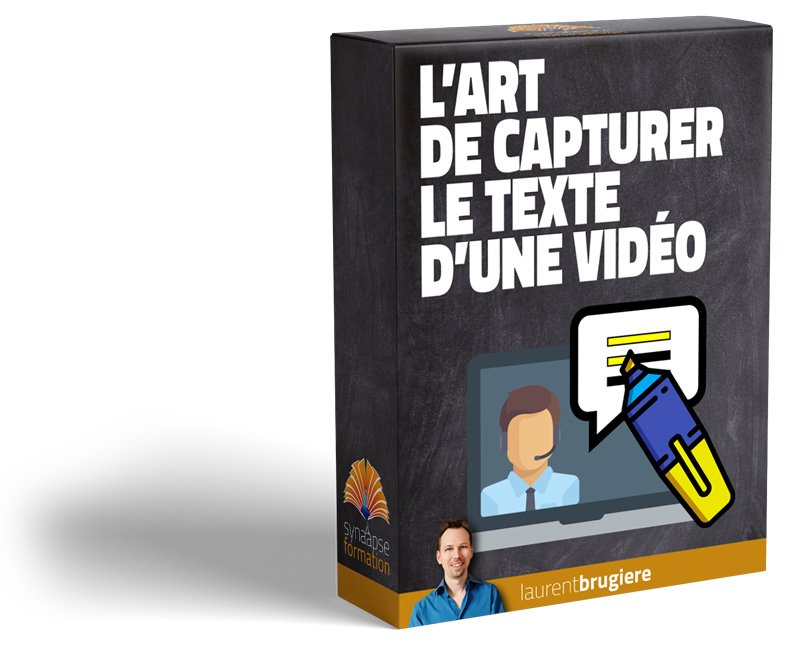 [LB] PDV Capture texte de video